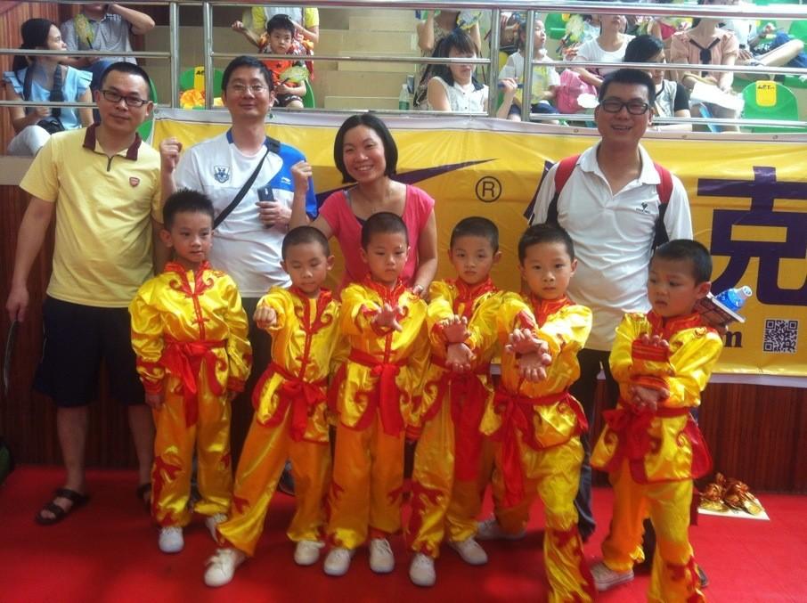 霭德幼儿园参加广州市武术比赛荣获一等奖