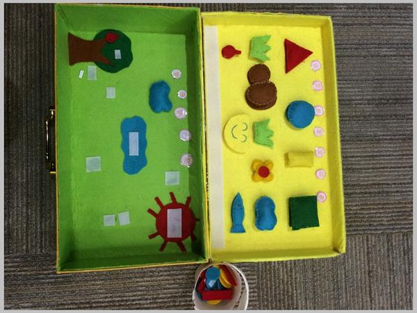 幼儿园教师自制区域活动操作材料评比活动报道-幼教